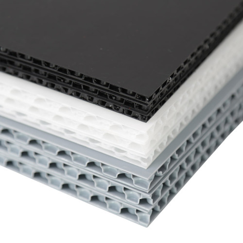 Waterproof Lightweight Durable Polypropylene PP Bubble Board for Floor Protection