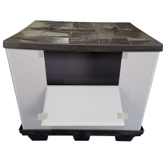 Factory Direct Sell Foldable PP Polypropylene Honeycomb Plastic Storage Box Pallet Sleeve