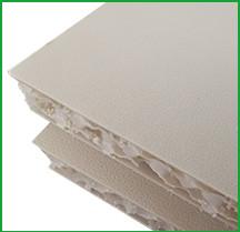 waterproof pp honeycomb core panel countertops companion table board
