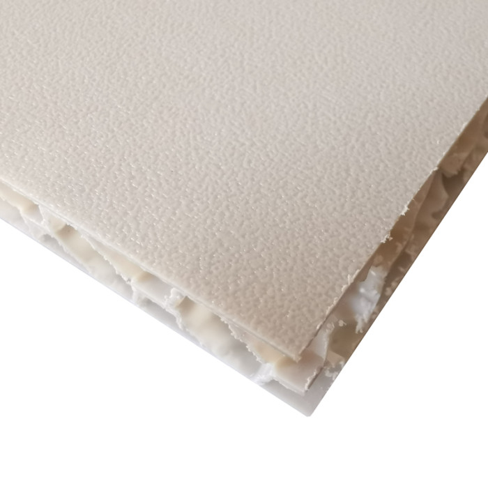 soundproof construction pp honeycomb core material plastic exterior wall panel