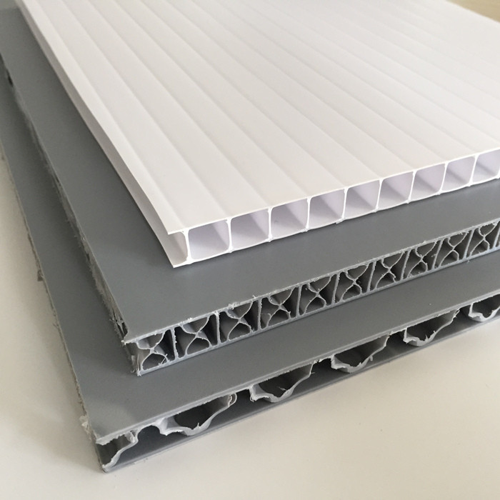 What is the difference between polypropylene corrugated sheet and honeycomb sheet?