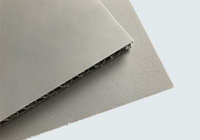 Rough polypropylene honeycomb board