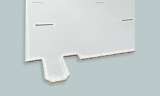 die-cutting honeycomb panel