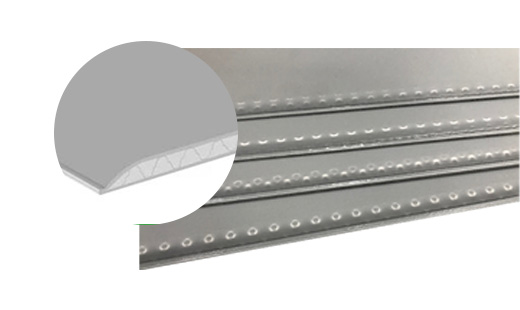 pp honeycomb board with narrow flat edge