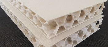 ultra thick pp honeycomb sheet