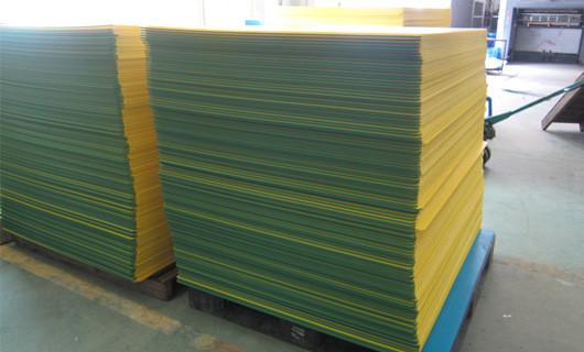 edge sealing coroplast sheet