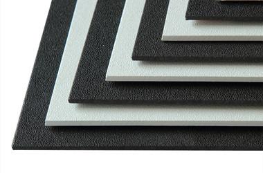 Textured abs sheet