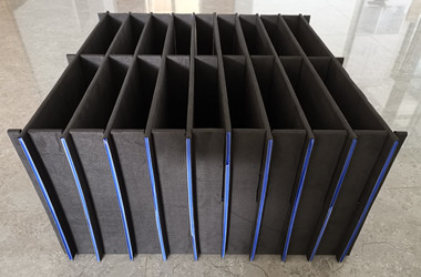 Fluted dividers with EVA foam