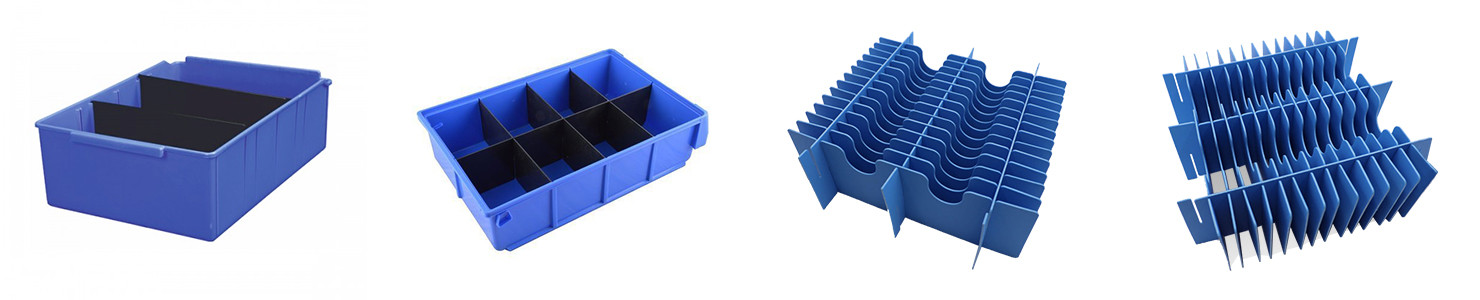 Solid PP film Divider for Electronic Products