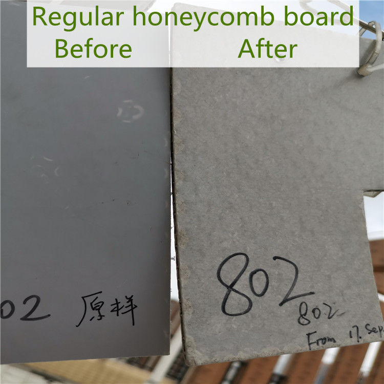 regular honeycomb panels
