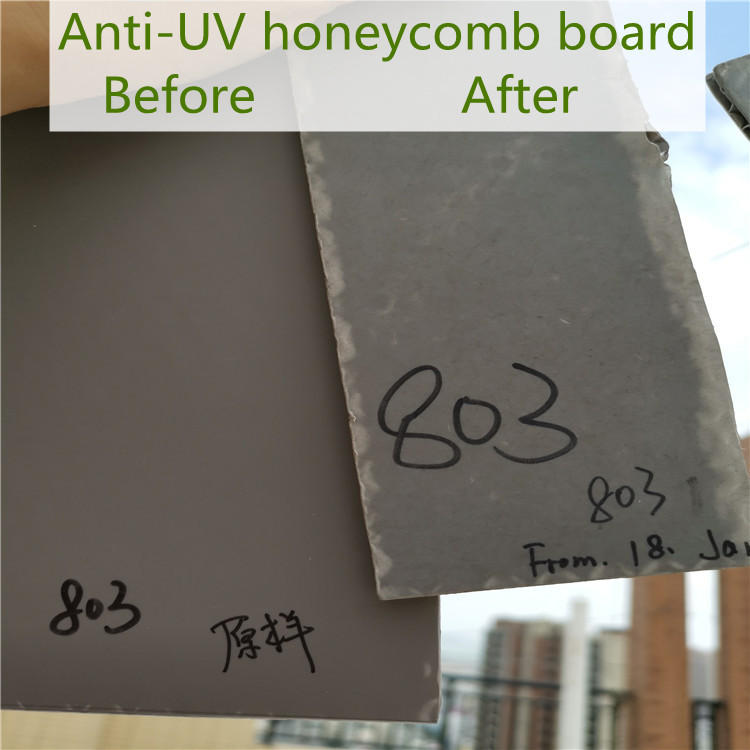 anti-ultraviolet honeycomb panels