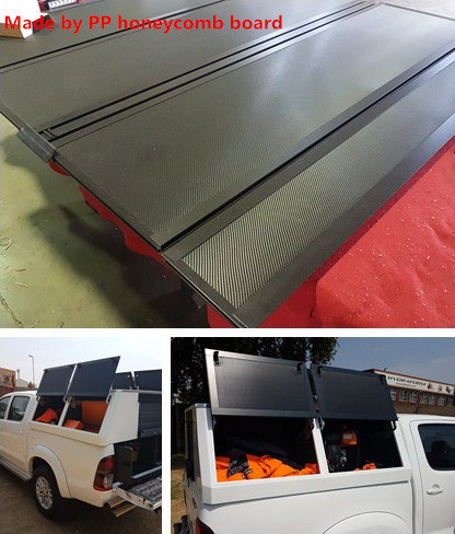 pp honeycomb for truck body liner
