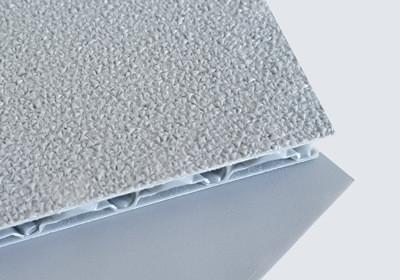 textured pp honeycomb board