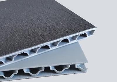 Anti-slip polypropylene honeycomb board