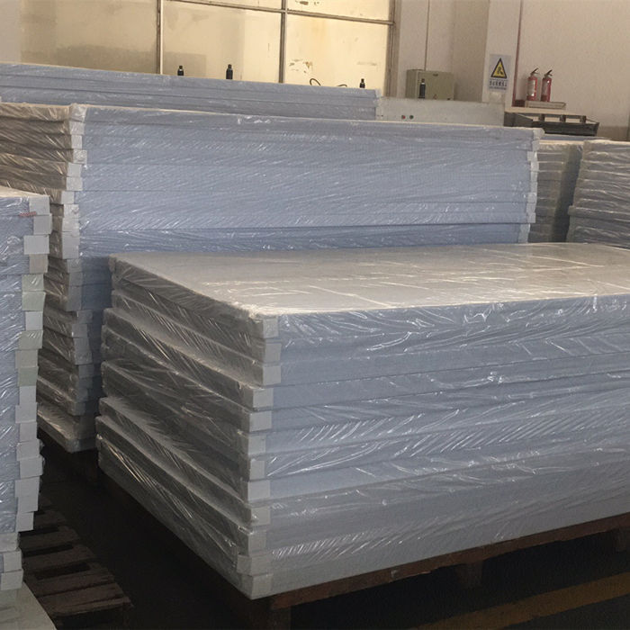 What type of package for plastic sheets we could offer?