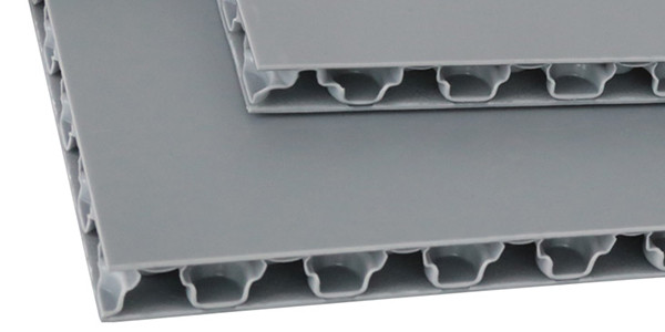 structure of Polyreflex pp honeycomb board