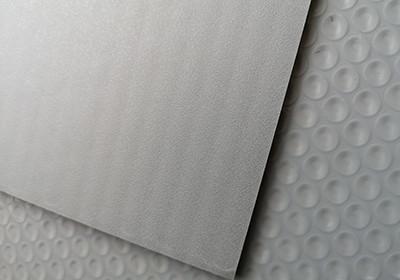 polypropylene matt bubble board