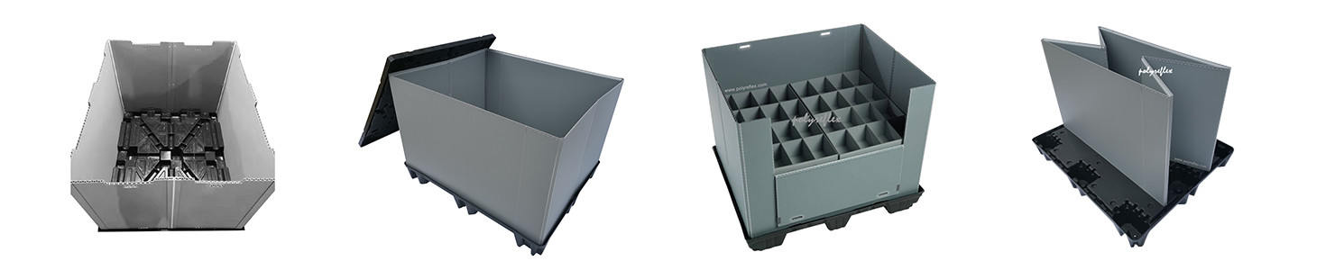 Collapsible lightweight pallet sleeve box