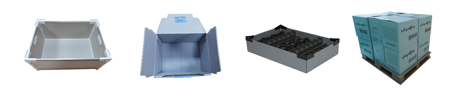 Durable reusable stackable packaging boxes