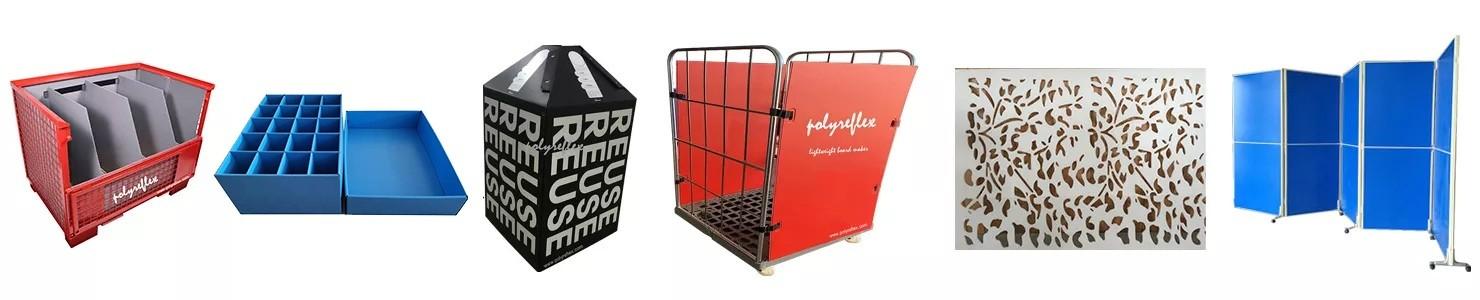 logistics turnover trolley baffle
