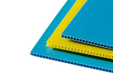 narrow pp fluted sheet