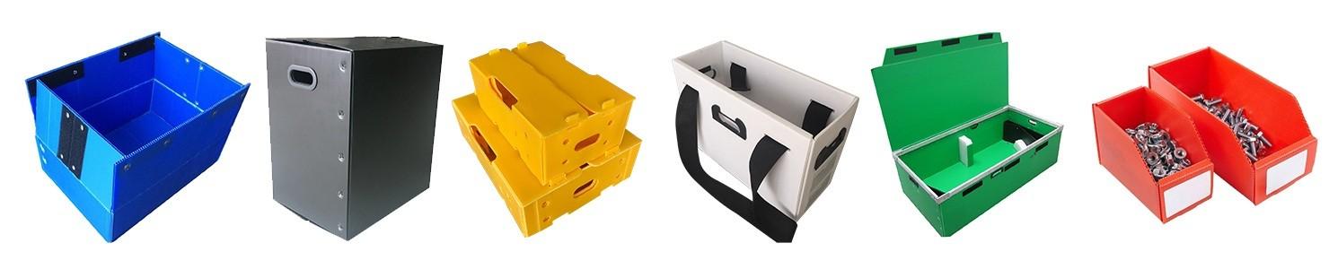 corflute reusable boxes unit bulk packs