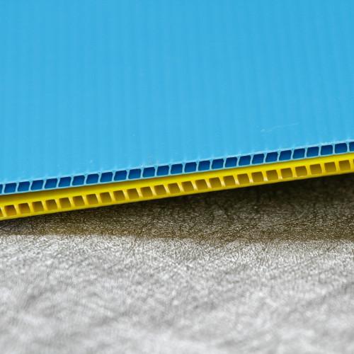 Recyclable Lightweight Polypropylene Plastic Corrugated Sheet