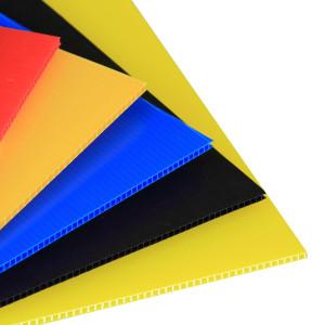 100% Virgin 4x8 Coroplast PP Fluted Corrugated Plastic Sheet