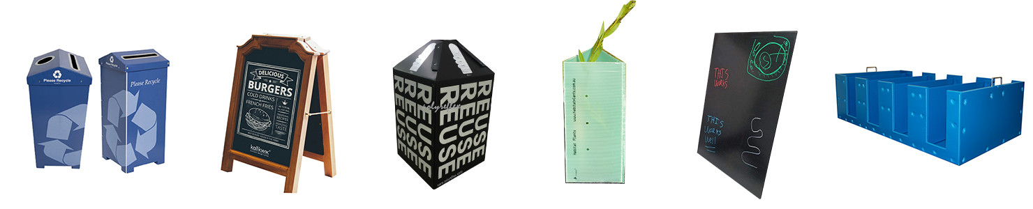recyclable reusable returnable pp corrugated sheet