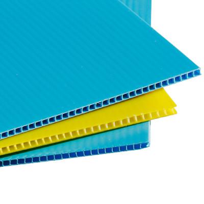 4x8 Printable Plastic PP Corrugated Sheet with corona treated