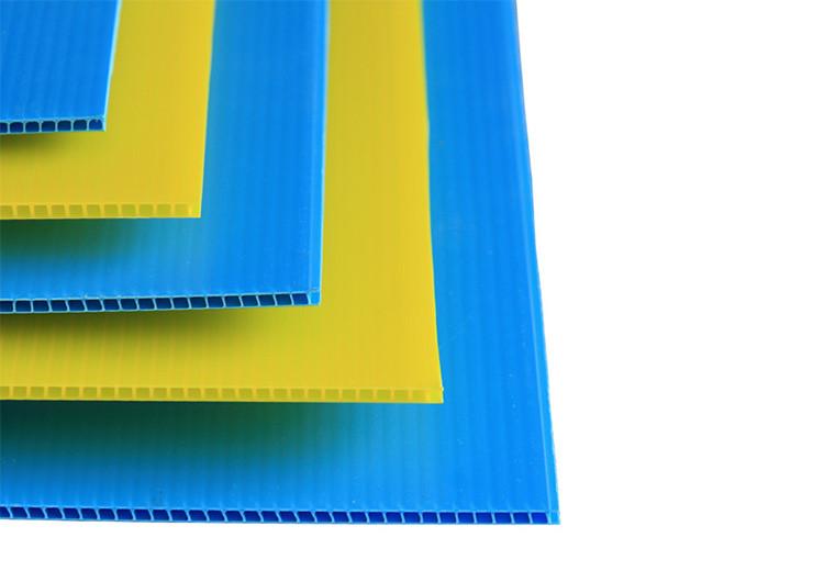 colored corflute sheet
