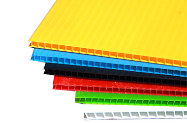 flat pp fluted sheet for printing