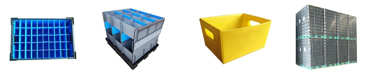 plastic transport turnover packaging beverages pads