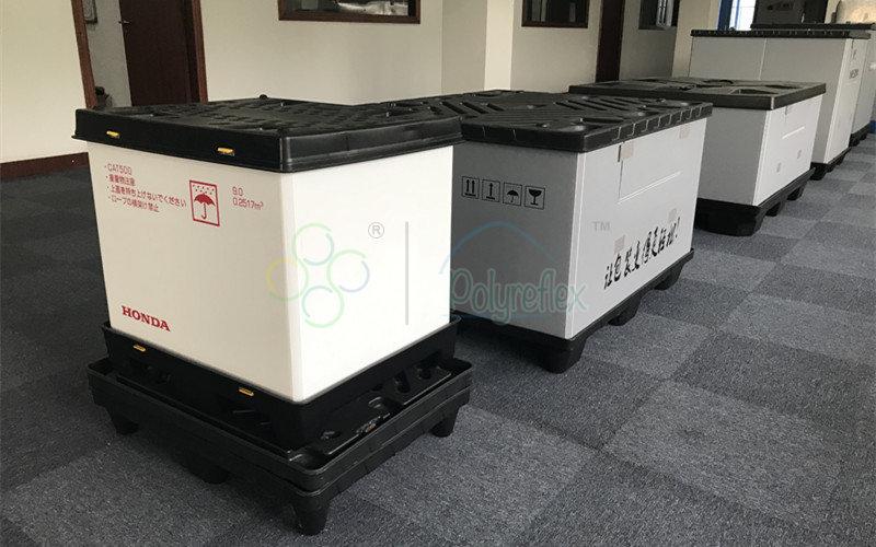 Polyreflex provides custom pallet box