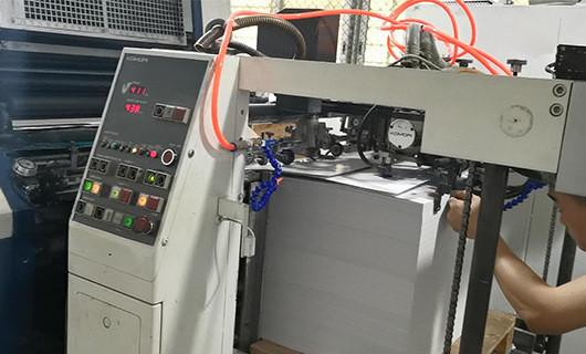 CMYK offset printing plastic pp sheet