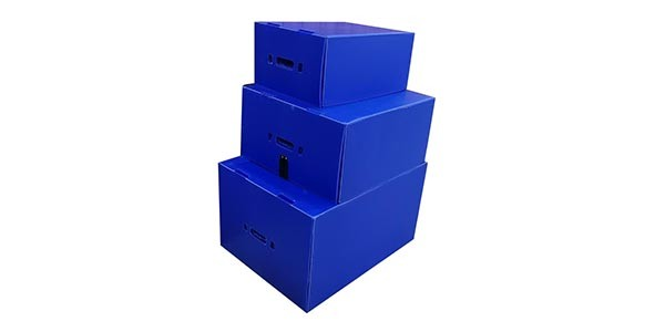 plastic boxes and foam dividers