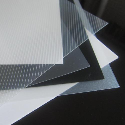 Beutiful Offset and Silk Printed Plastic Printing Material PP Thin Sheet