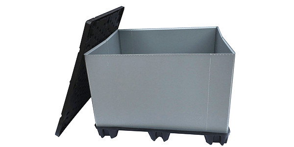 Pallet Sleeve Container with doors