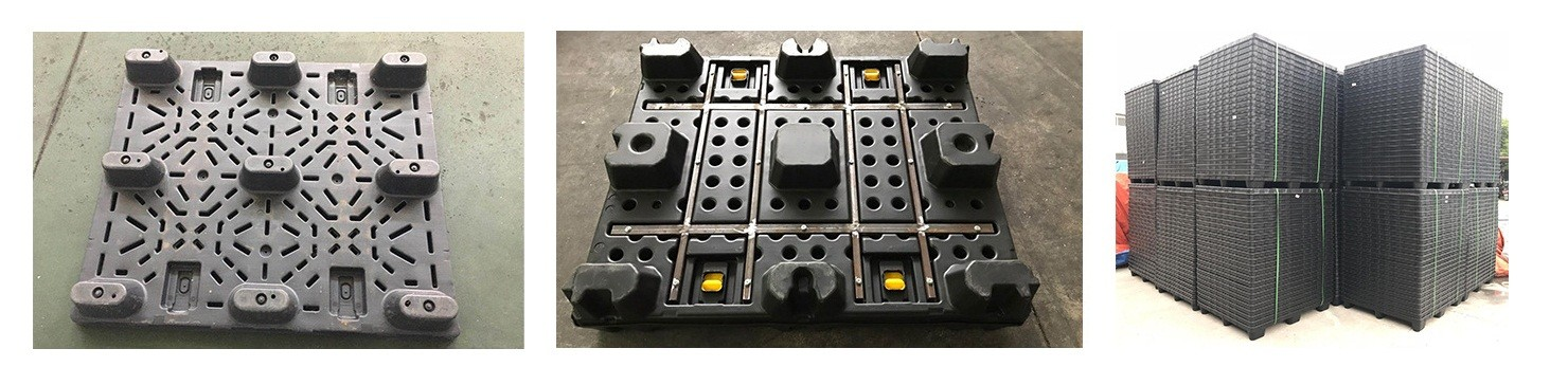 HDPE lid and pallet