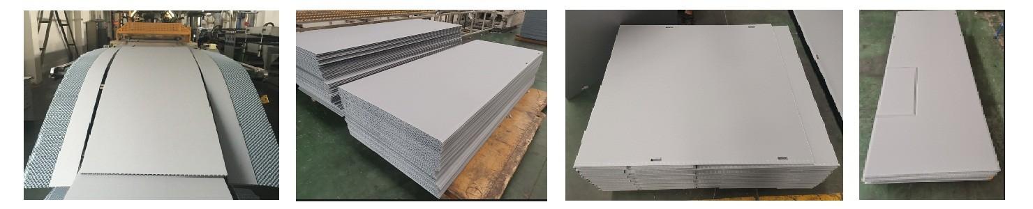 die-cutting honeycomb panel