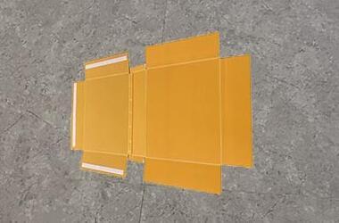 Plastic corrugated lid