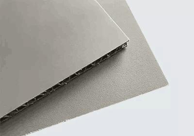 Rough polypropylene honeycomb board