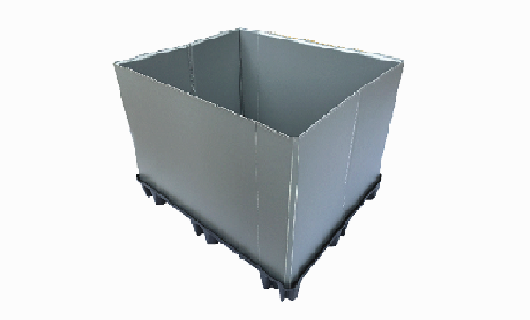 pallet box without lid