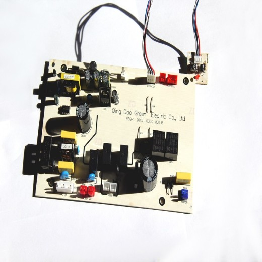 A new PCBA control board designed and produced by Green has finished