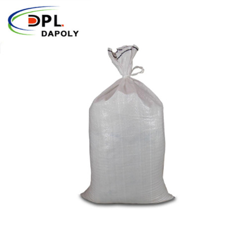 Placement and maintenance of plastic woven bags