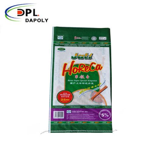 Dapoly PP plastic bag 25kg for fertilizer grain maize packing wheat flour rice bags