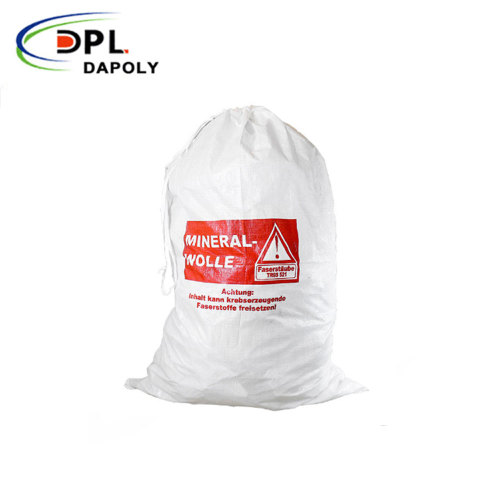 Dapoly PP plastic bag 25kg for fertilizer grain maize packing wheat flour rice bags