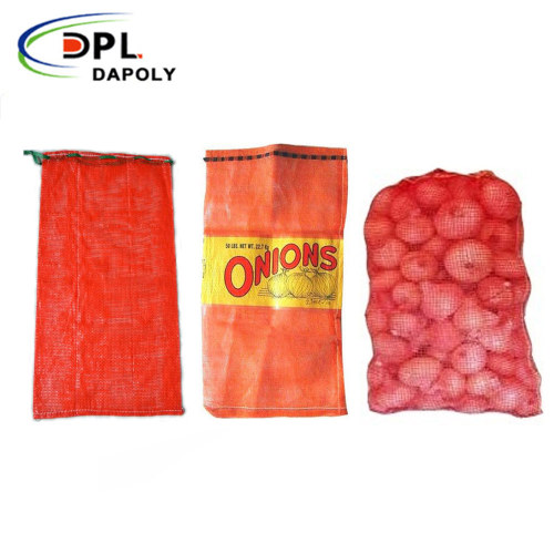 Circular Plastic Woven Potato Sack Tubular PP Mesh Onion Bag