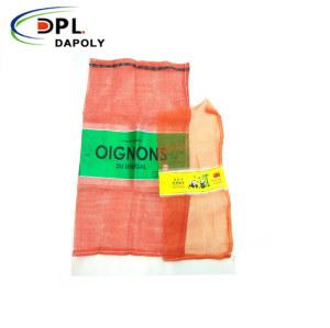 Plastic Woven Leno PP Mesh Onion, Garlic, Potato Net Bags
