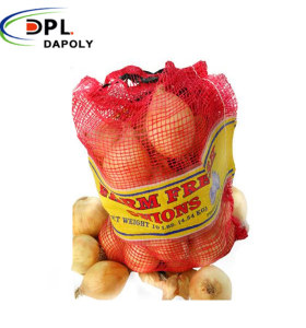 Packing Rolls Vegetable Potato Onion Packages Sack pp tubular Mesh Bag
